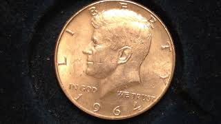 Valuable 1964 Kennedy Half Dollars- Millions Made All 90% Silver