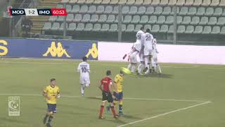 Modena-Imolese 2-2, highlights