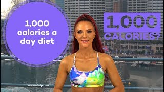 1000 Calories A Day Diet