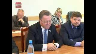 Сегодня состоялось совместное заседание постоянных комиссий Думы Великого Новгорода