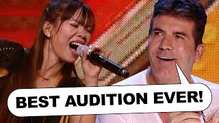 BEST AUDITION EVER! Simon Cowell GOES WILD For Filipino Girl Band 4th Power