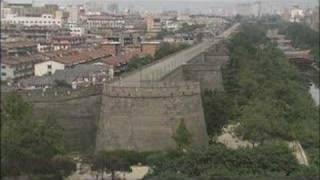 西安(2 )[中国大紀行DVD 第1巻 黄河に悠久の歴史を辿る より]