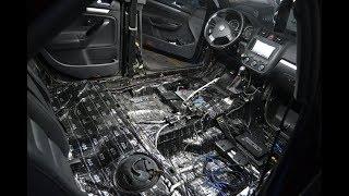 Tratamiento Acústico, VW BORA.