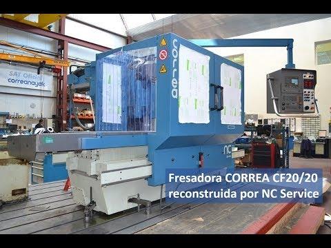 Fresadora CORREA CF20/20 reconstruida por NC Service