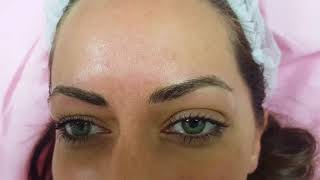 Natural Eyebrows Microblading by El Truchan @ Perfect Definition