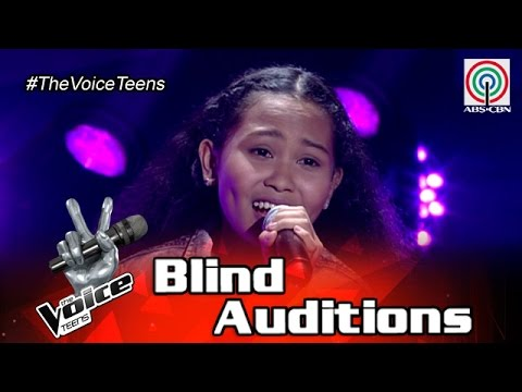 The Voice Teens Philippines Blind Audition: Dayhme Adobas - Your Love