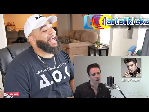 ONE GUY, 54 VOICES (With Music!) Drake, Queen -Famous Singer Impressions - REACTION
