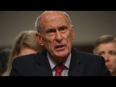 Coats won't answer Trump-Russia question