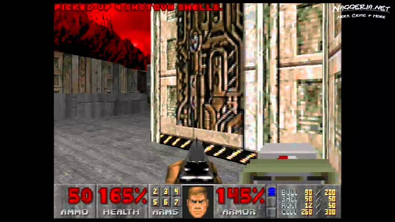 "Doom (E3M3 ""Pandemonium"") Walkthrough – Ultra-Violence"