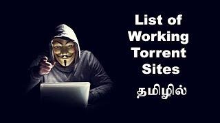 List of Working Torrent Sites - Tamil Tutorials