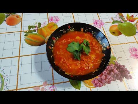 Постные щи из квашеной капусты с картофелем от Луча Lean sauerkraut soup 瘦酸菜汤 लीन सौकरकूट सूप