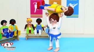 The Ricardo's Go To Karate Class!! Ep. 16