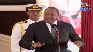 Uhuru says he is not old after forgetting to address an issue
