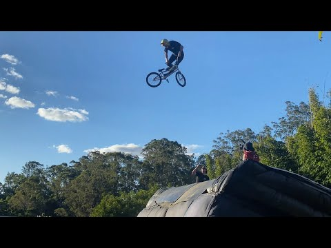 BMX First Ever 360 Double Backflip Tailwhip Trick