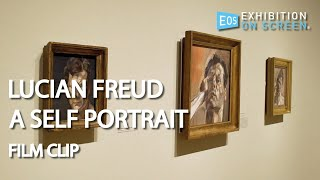 UNDOING EVERYTHING HE KNOWS | Lucian Freud: A Self Portrait (2020) | Film Clip