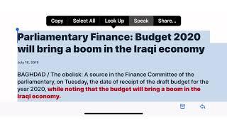 (11/25) 2020 Budget = RI