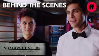 Shadowhunters Behind the Scenes : Malec
