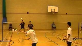 preview picture of video 'Oxford vs Cambridge Badminton Varsity Match 2003 (2nd Teams)'