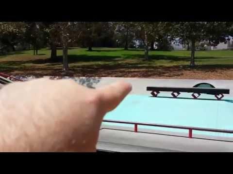 Tour of Diamond Supply Co. Public Skate Plaza in Hazard Park, Boyle Heights, Los Angeles, CA