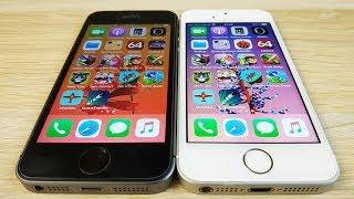 iPhone SE TSMC vs Samsung / 32gb vs 16gb - ТЕСТ СКОРОСТИ