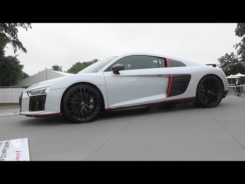 Audi R8 V10 Plus Selection 24h Is A Supercar With A Long Name At Goodwood Autoevolution