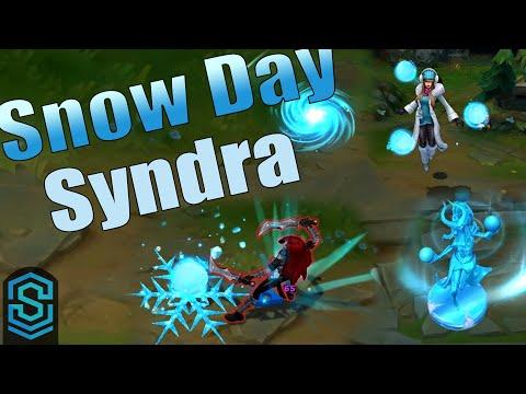 Trang phục Syndra Ngày Tuyết Rơi - Snow Day Syndra Skin