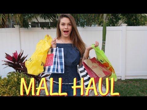 8ee798c4e0 SPENDING EMMA S BIRTHDAY MONEY MALL SHOPPING HAUL! FLORIDA STATE FAIR!