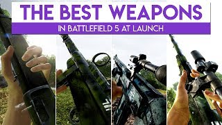 The BEST Weapons For Each Class In Battlefield 5 | (Assault, Medic, Support, Recon)