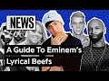 A Timeline Of Eminem's Lyrical Beefs   Genius News