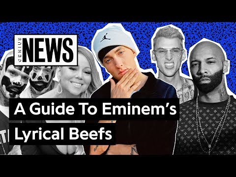 A Timeline Of Eminem's Lyrical Beefs | Genius News