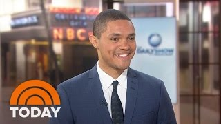 Trevor Noah: Part Of Me Is Panicking About Hosting 'The Daily Show' | TODAY