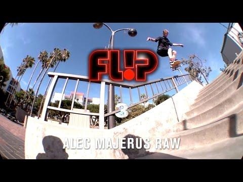 Alec Majerus Flip 3 Raw - TransWorld SKATEboarding