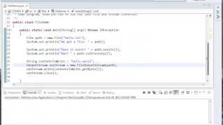 Java Basics - IO Part 1 - Files and Streams