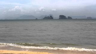 preview picture of video 'Beach at Koh Yao Noi island near Phuket'