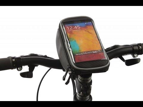 Tofern bicicletta ciclismo MTB BMX Borse da manubrio supporto del telefono mount con touch screen