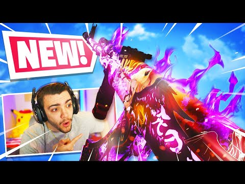 the NEW ANIME AK-47 is AMAZING! 😍 (REACTIVE CAMO) - Black Ops Cold War