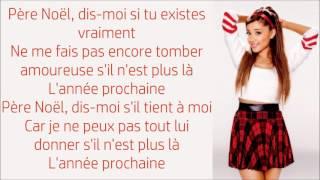Ariana Grande ~ Santa Tell Me ~ Traduction Française