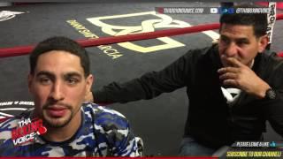 "Danny Garcia ""I Changed The Face in Philadelphia Sports in The Boxing Scene"""