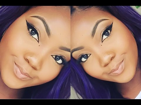 HIGHLY REQUESTED WINGED EYE LINER TUTORIAL (GEL + LIQUID) | TALK THROUGH
