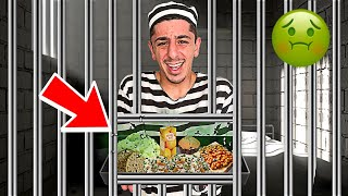 Eating ONLY Prison Food for 24 HOURS!! **i regret it**