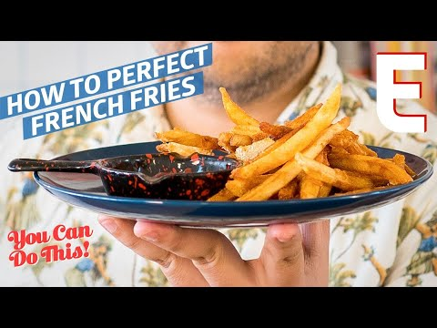 How To Make The Crispiest and Crunchiest French Fries Ever — You Can Do This!