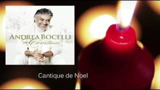 Andrea Bocelli - Cantique de Noel