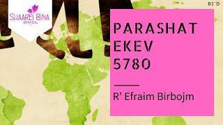 Parashat Ekev 5780