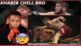 Khabib Nurmagomedov - Brutal Fights in MMA | CJSALAH REACTION |