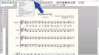 Lyrics - Word Extrensions, Fonts and Music Spacing - YouTube