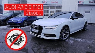 Разоблачение блока увеличения мощности!  Audi A7 3.0 TFSI Stage1!