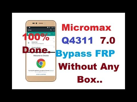 Micromax Q4261 FRP (Google Account) Lock Remove Done
