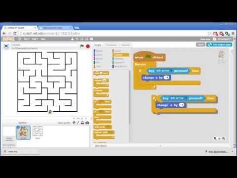 Maze – Invent with Scratch 2.0 Screencast