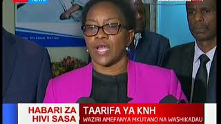 Sicily Kariuki: CEO and colleague responsible for clinical matters sent on compulsory leave