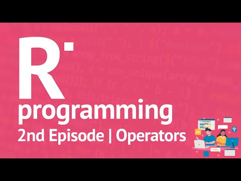 R Programming Series - 2nd Episode, R Operators, Free R Online Tutorials